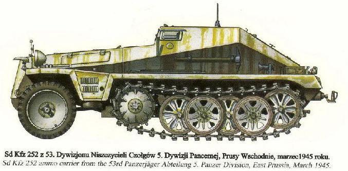 Camouflages, numerotation et marquages des Panzer Panze165