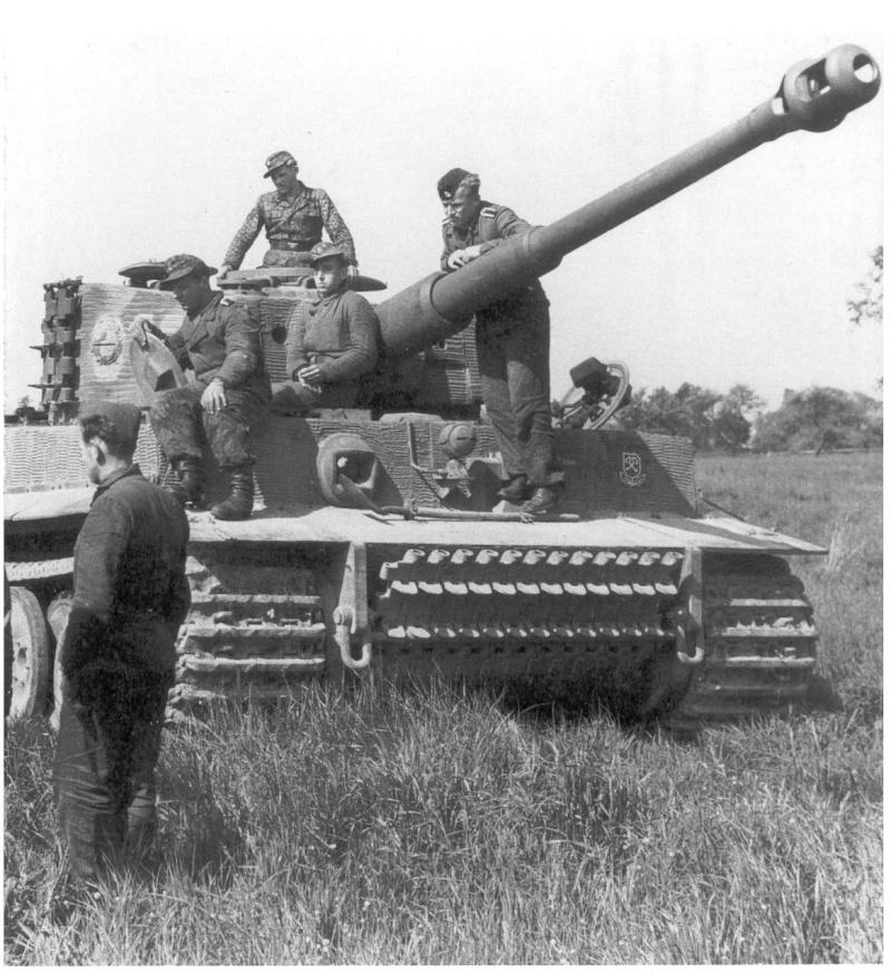 Waffen SS - les Equipages de Panzer - France 44 Panzer24