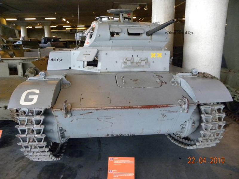 PANZER II AUSF. C - Canada War Museum Panzer25
