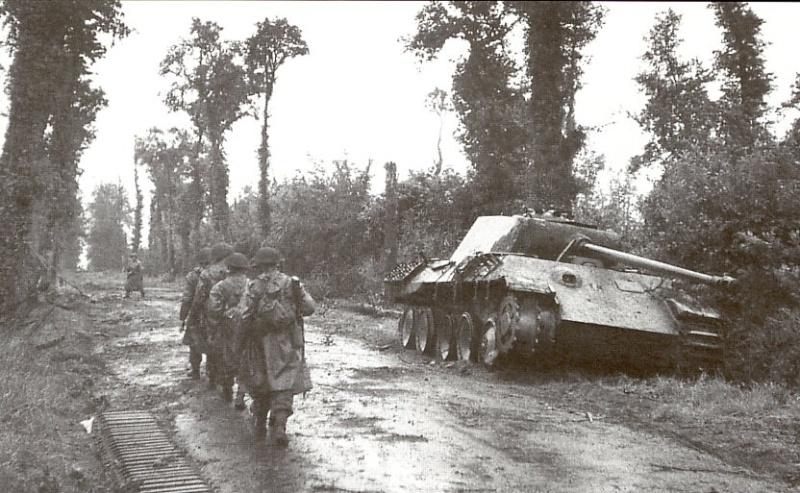 Panzer Wreck - Normandie 1944 Panzer54