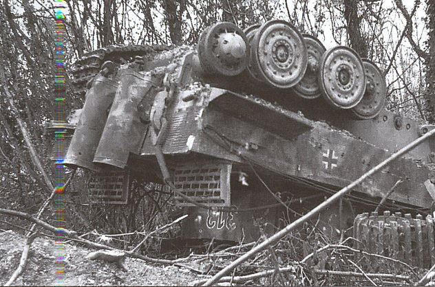 Panzer Wreck - Normandie 1944 Panzer62