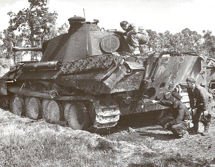 Panzer Wreck - Normandie 1944 Panzer68