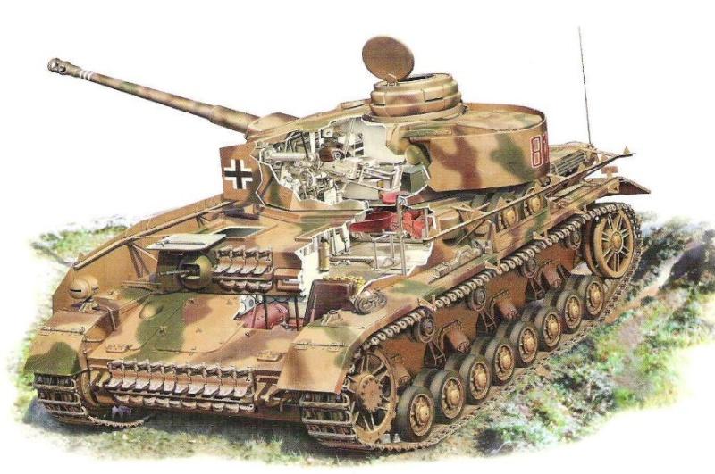 SdKfz 161 Panzerkampfwagen IV Panzer74