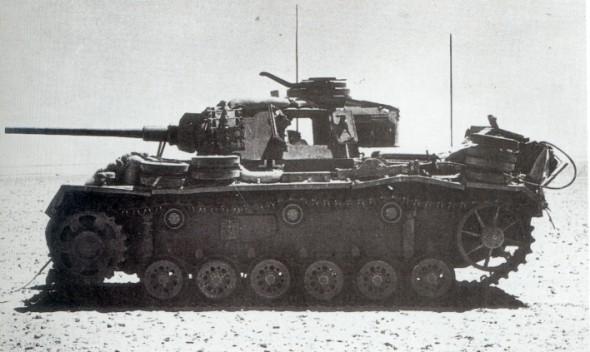 Panzerkampfwagen - Panzer III Panzer84