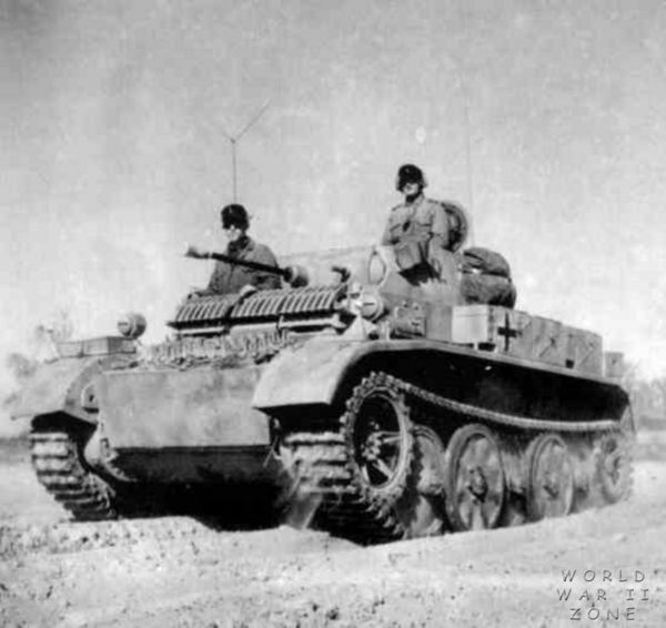 """Panzer II L """"Luchs"""" - Lynx  Pzkpfw20"""