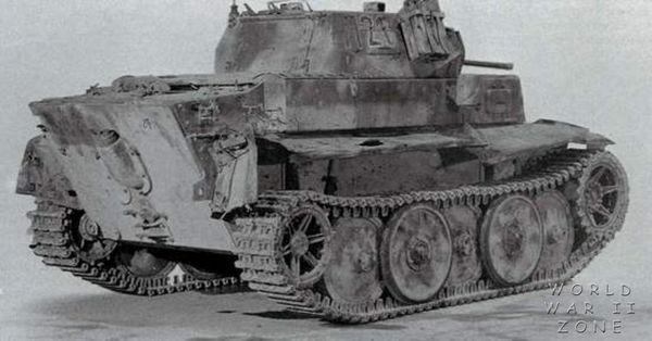 """Panzer II L """"Luchs"""" - Lynx  Pzkpfw21"""