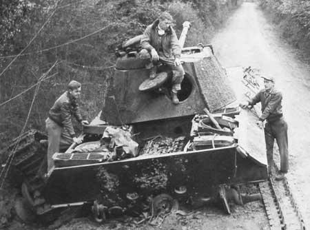 Panzer Wreck - Normandie 1944 Pzlehr17