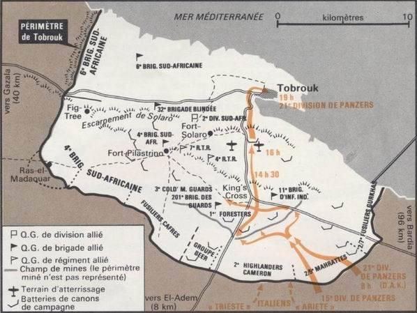 Le siège de Tobrouk - 1941 Rommel10