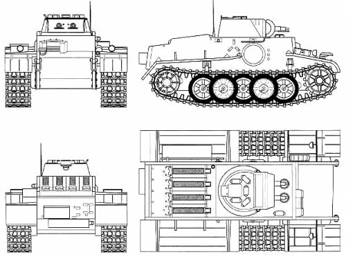 Pz.Kpfw I Ausf.F Sd_kfz11