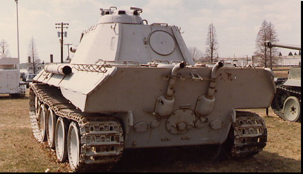 Panther - Aderdeen Proving Ground - usa Sdkfz110