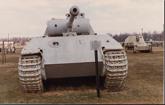 Panther - Aderdeen Proving Ground - usa Sdkfz111