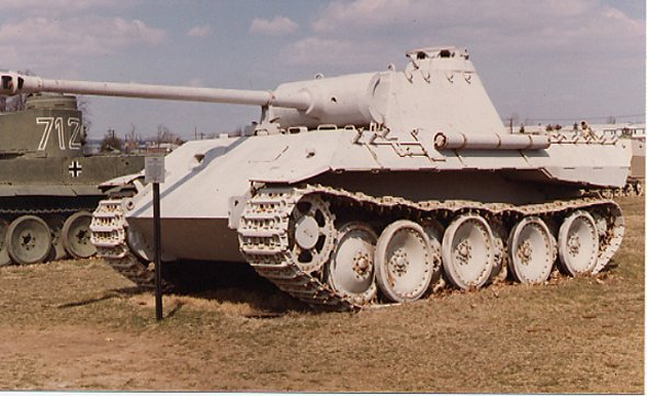 Panther - Aderdeen Proving Ground - usa Sdkfz112