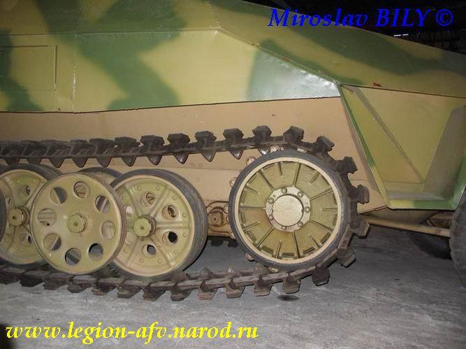 SdKfz 251/9 - Munster - Panzer Museum - DE Sdkfz211