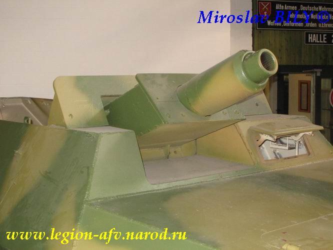 SdKfz 251/9 - Munster - Panzer Museum - DE Sdkfz214