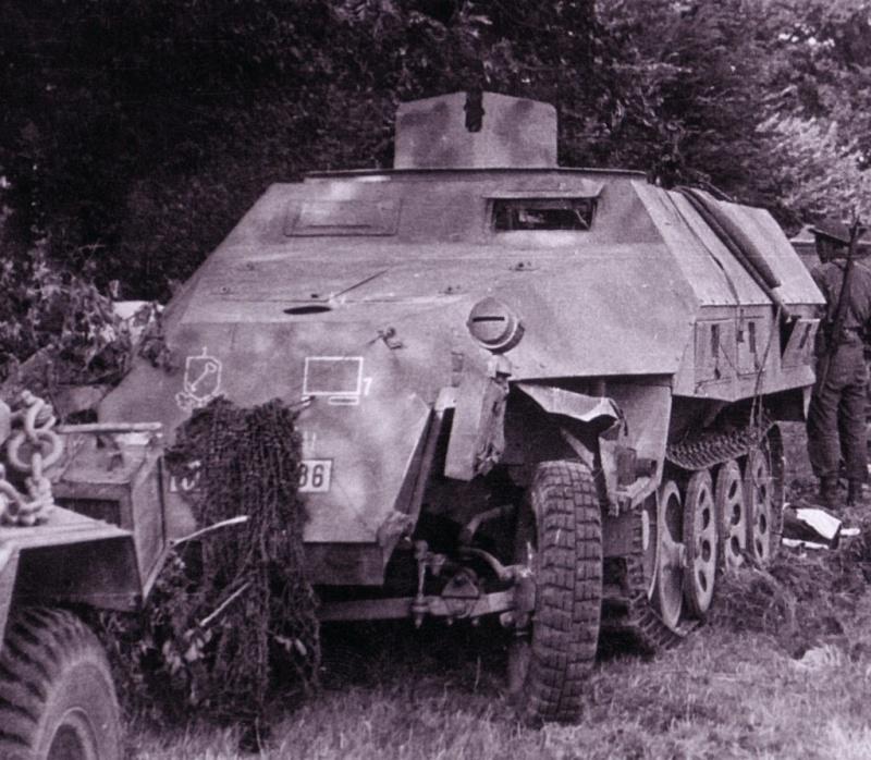 Panzer Wreck - Normandie 1944 Sdkfz223