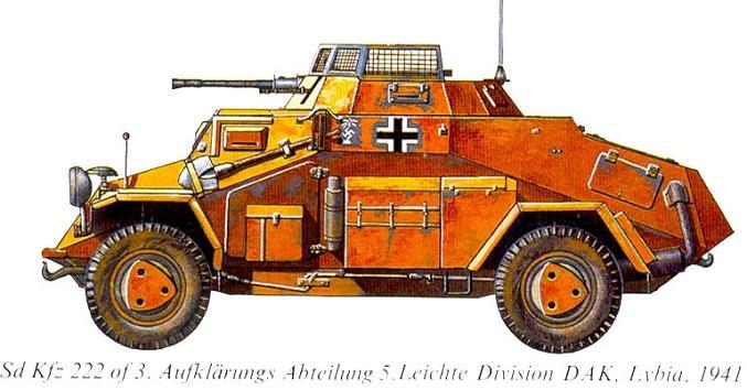 Le siège de Tobrouk - 1941 Sdkfz_28