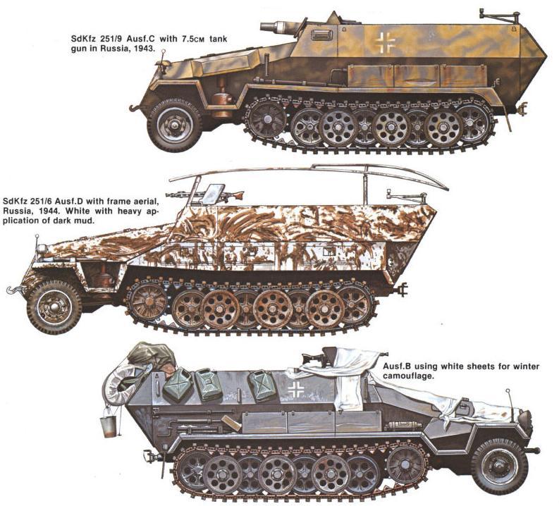 Camouflages, numerotation et marquages des Panzer Sdkfz_39
