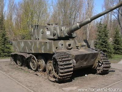 Tiger I - Snegiri Lenino - Russia Snegir11