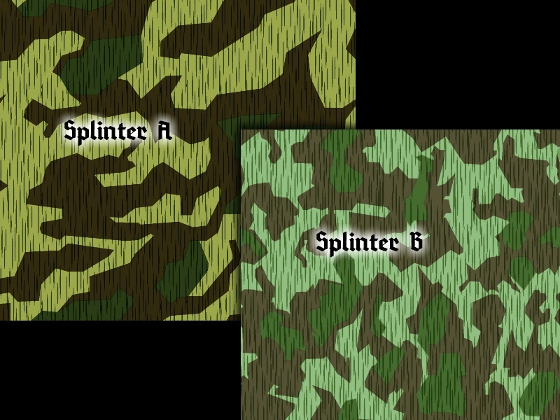 HEER - Splittermuster - Splinter Camouflage Splint10