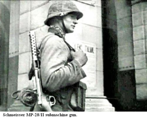Maschinenpistole 28 - MP 28 St10