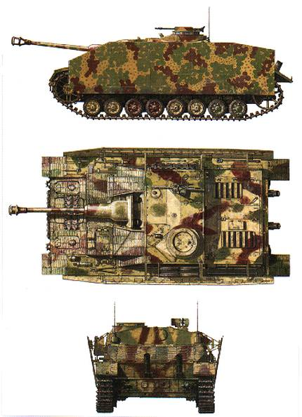 Sturmgeschütz IV Stug4-10