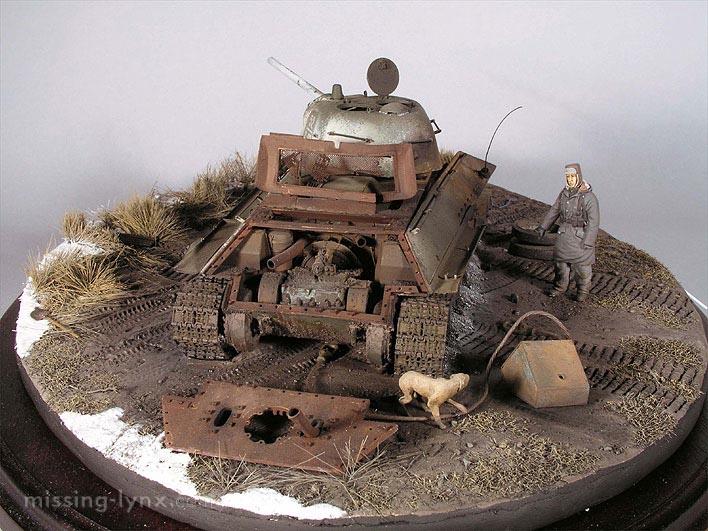 Destroyed T-34/76 mod.1943 - Kharkov, February 1943 T3476_14