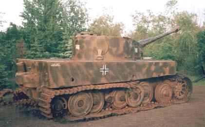 Tiger I - Snegiri Lenino - Russia Tank110