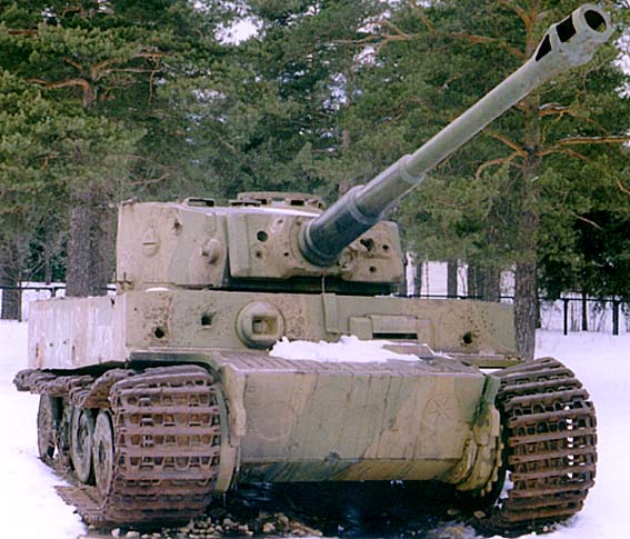 Tiger I - Snegiri Lenino - Russia Tank_110