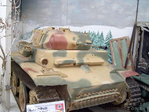 "Panzer II L ""Luchs"" - Lynx  The_re10"