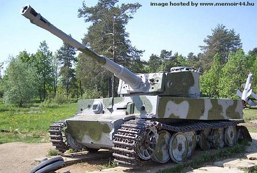Tiger I - Snegiri Lenino - Russia Tiger-10