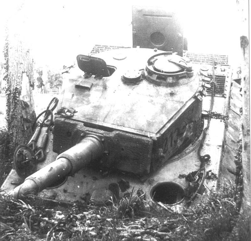 Panzer Wreck - Normandie 1944 Tiger_20