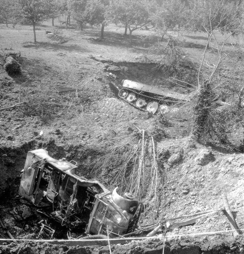 Panzer Wreck - Normandie 1944 Tiger_22