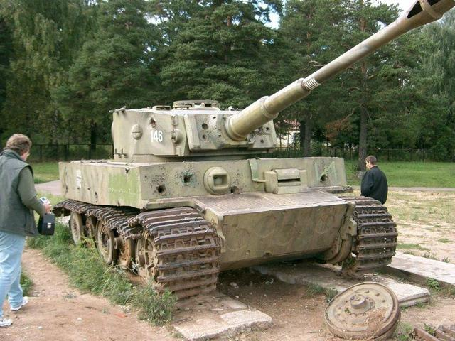 Tiger I - Snegiri Lenino - Russia Tigeri11