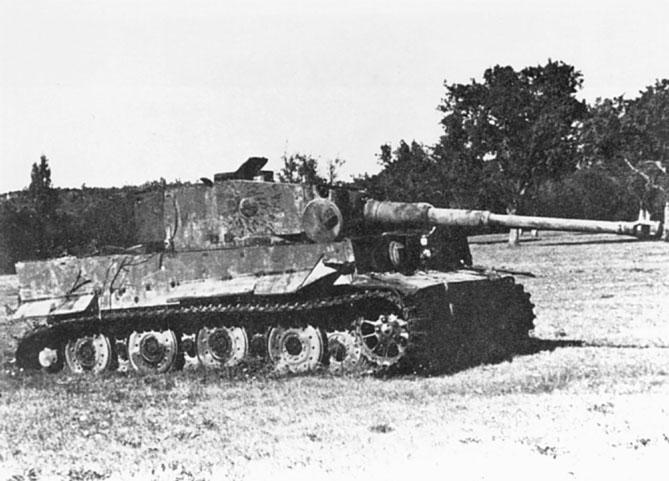 Panzer Wreck - Normandie 1944 Tigerm10