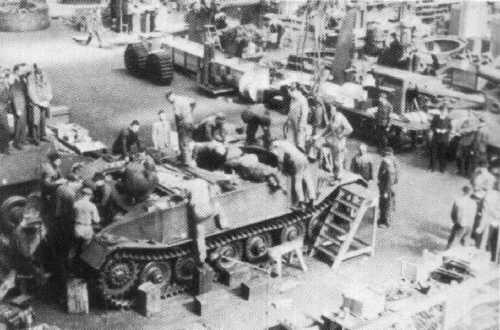 La Production des Panzer Tigerp12