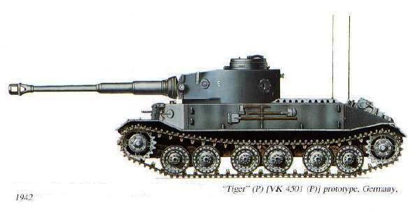 PORSCHE TIGER -  VK4501(P) / Porsche Typ 101 Tigre610