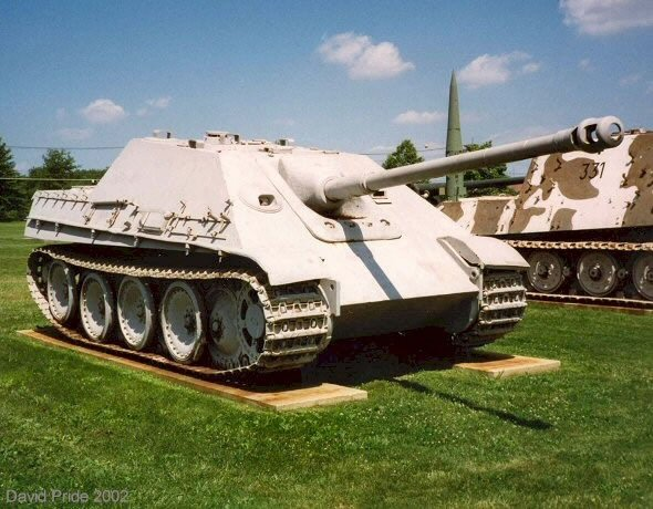 Jagdpanther Aberdeen Proving Grounds - USA Us_apg10