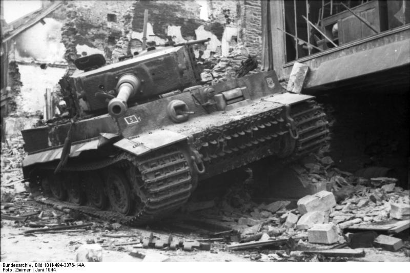 Panzer Wreck - Normandie 1944 Vehicl10