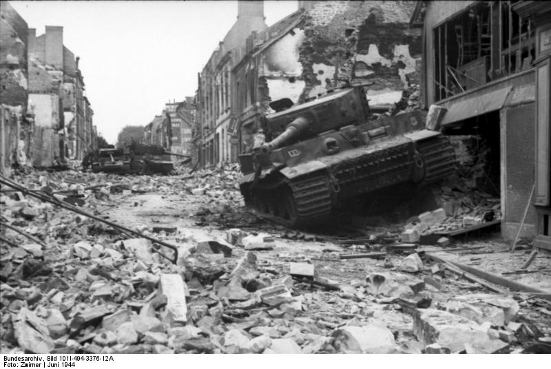 Panzer Wreck - Normandie 1944 Vehicl11