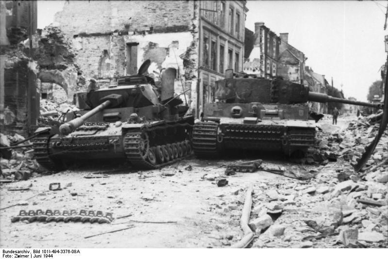 Panzer Wreck - Normandie 1944 Vehicl12