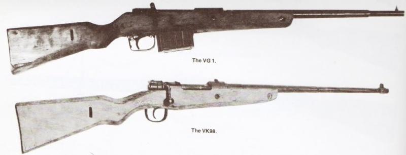 Volkssturm Karabiner 98 - VK98 Vg1and10