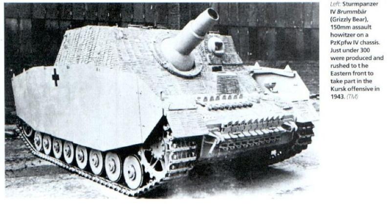 Sturmpanzer IV - Brummbär ! World_13