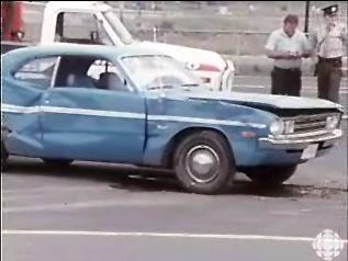 4 septembre 1973 au Quebéc. video avec des vieux char. Demon710