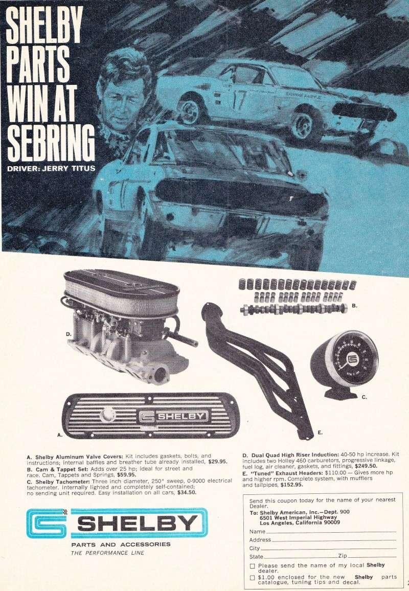 L'équipe de course Terlingua de Shelby-American en 1967 Shelby11