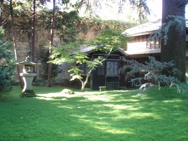 Visite du jardin Albert Kahn Lanter11