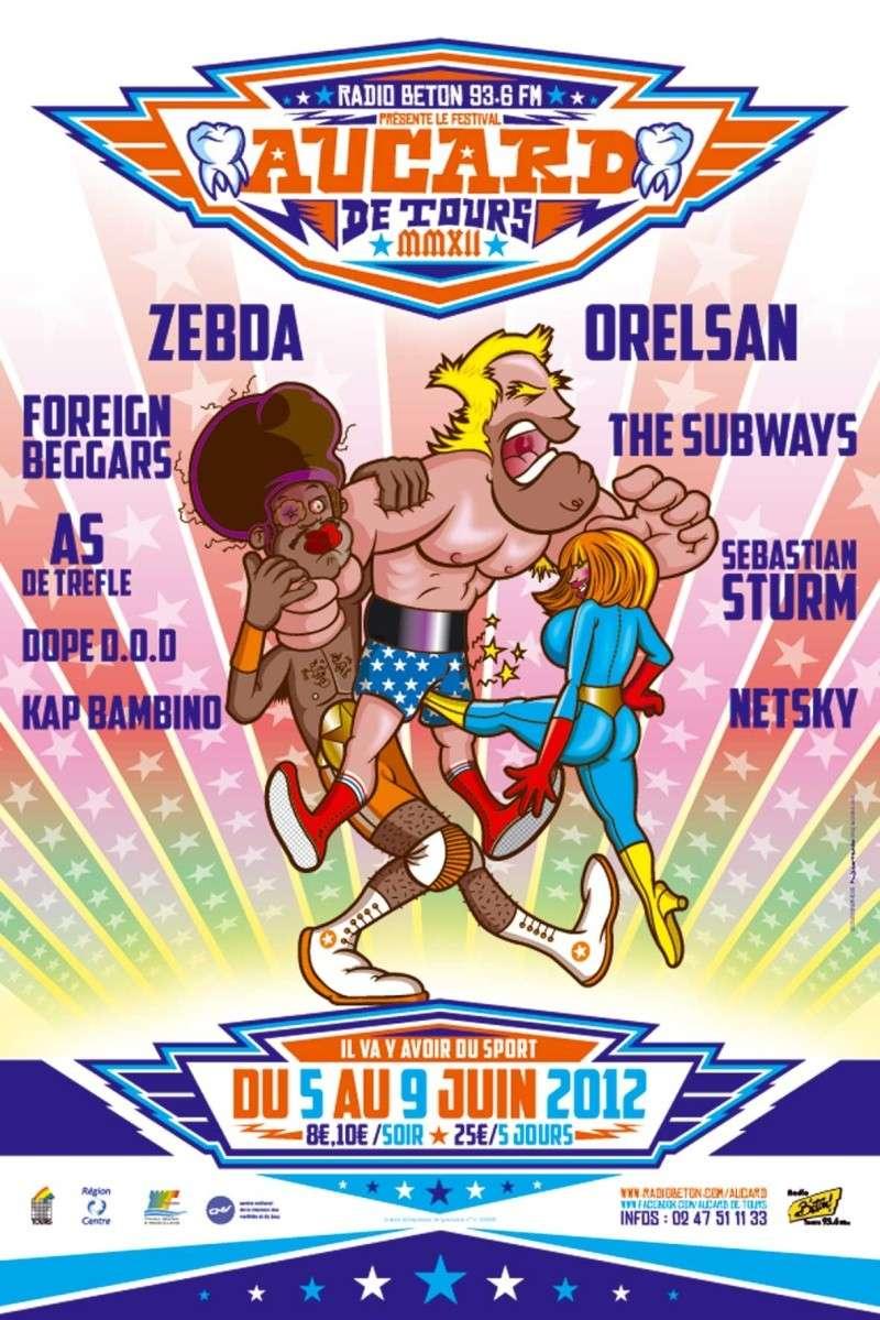 [5>9/06/12] Festival Aucard de Tours (27ème édition) Affich12