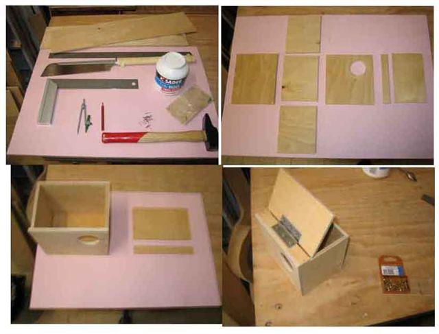 fabriquer un nichoir. Black Bedroom Furniture Sets. Home Design Ideas