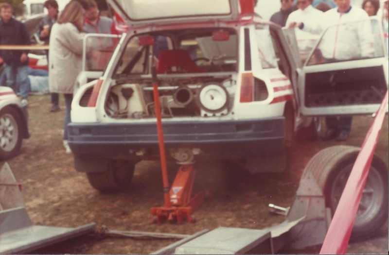 Renault 5 maxi Turbo Rallycross 1987 / 88  Gerard Rousel Rousse12