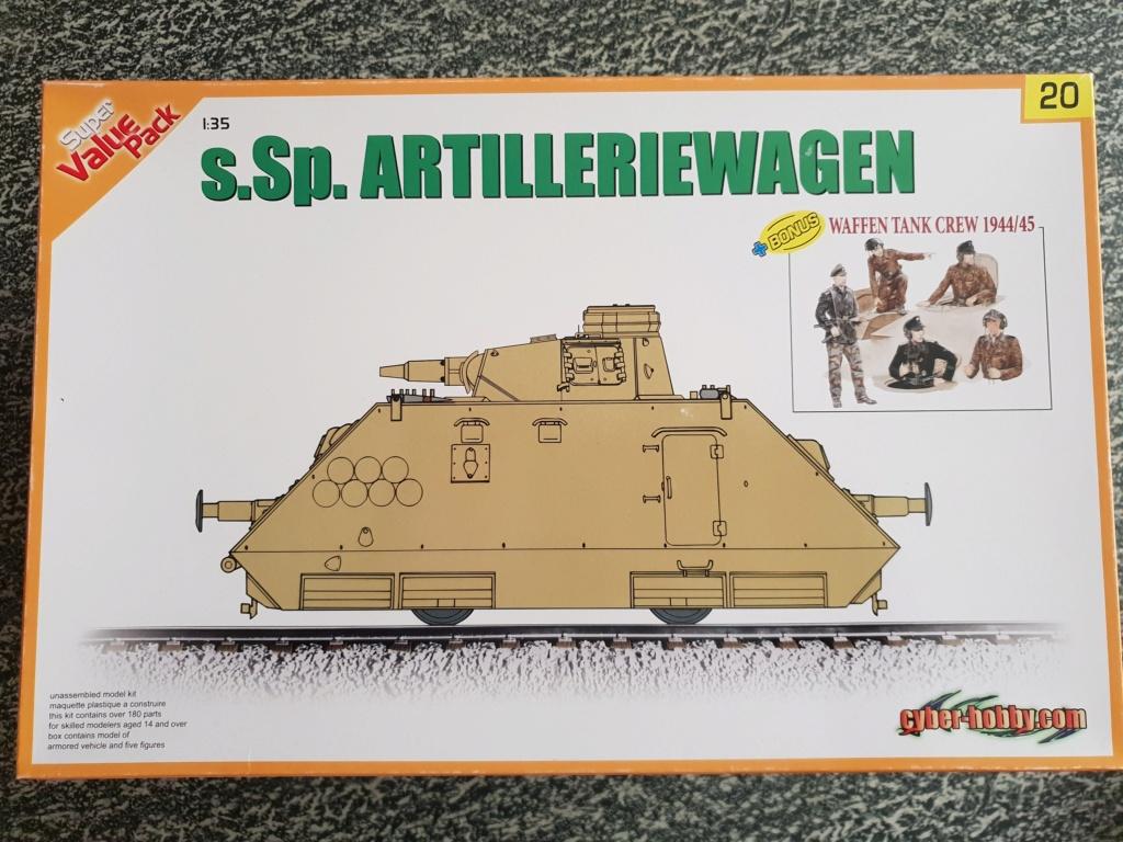 Reconnaissance Armored Train Avril 1945 20190411