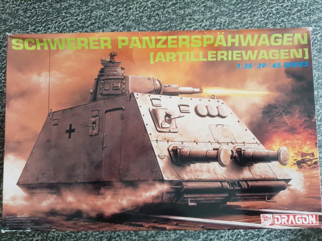 Reconnaissance Armored Train Avril 1945 20190413